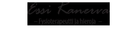 Fysioterapeutti-hieroja Essi Kanerva